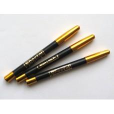 Сурьма-карандаш (кохль) для глаз и бровей, цвет черный
