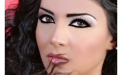 Арабский и восточный макияж (фото)